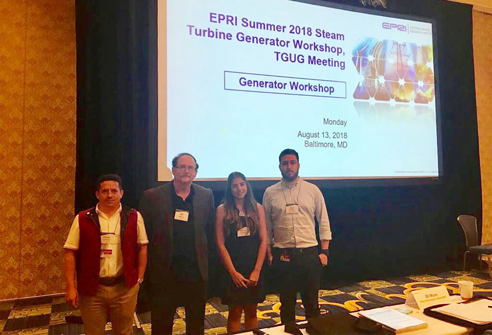 Summer EPRI Steam Turbine Generator Workshop, 2018